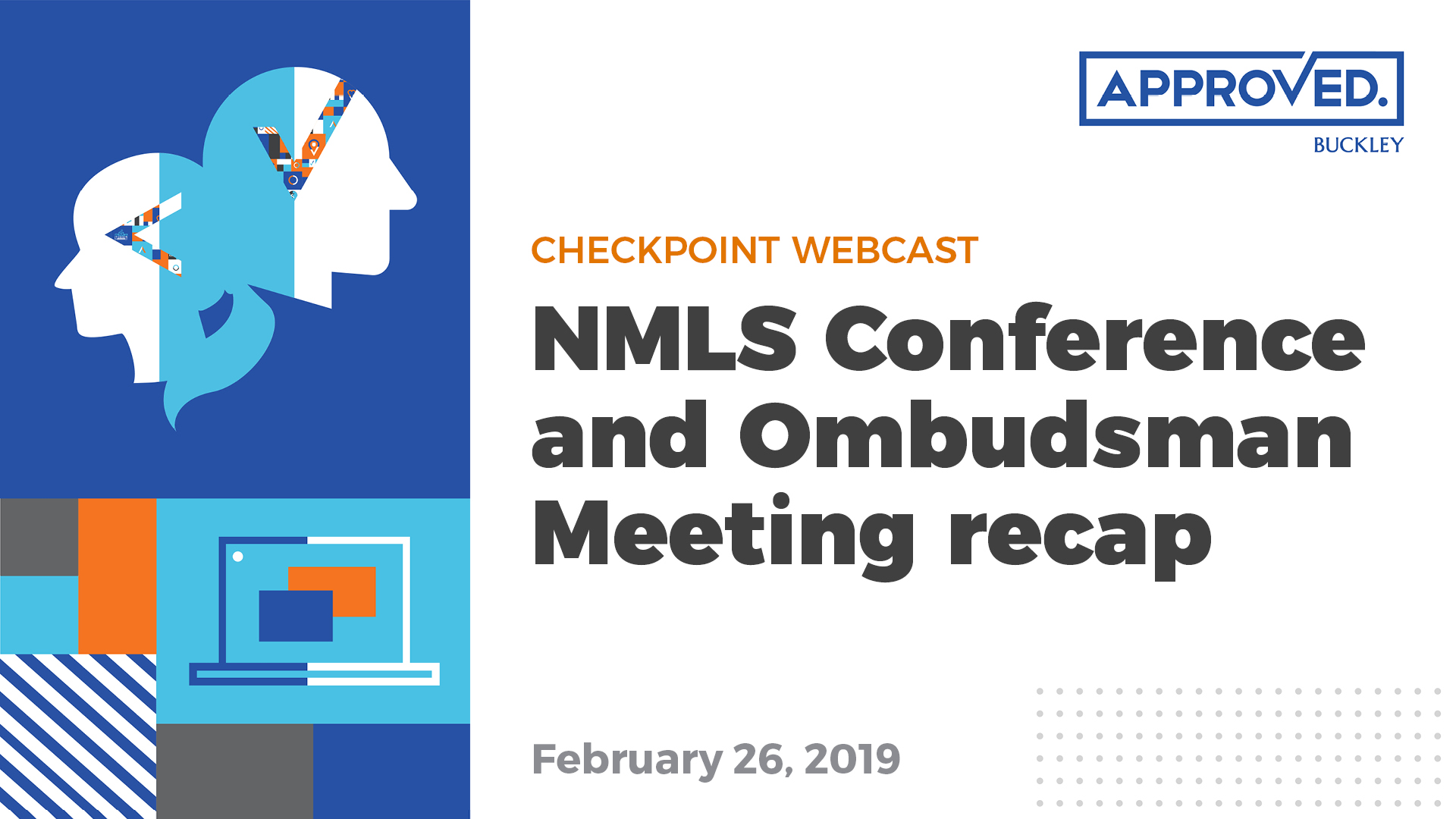 NMLS 2019 Annual Conference recap | APPROVED Checkpoint Webcast