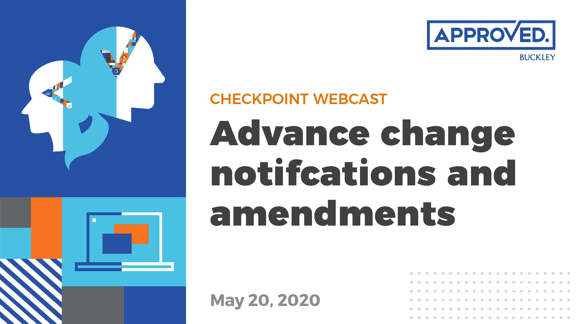 ACN and Amendments | APPROVED Checkpoint Webcast