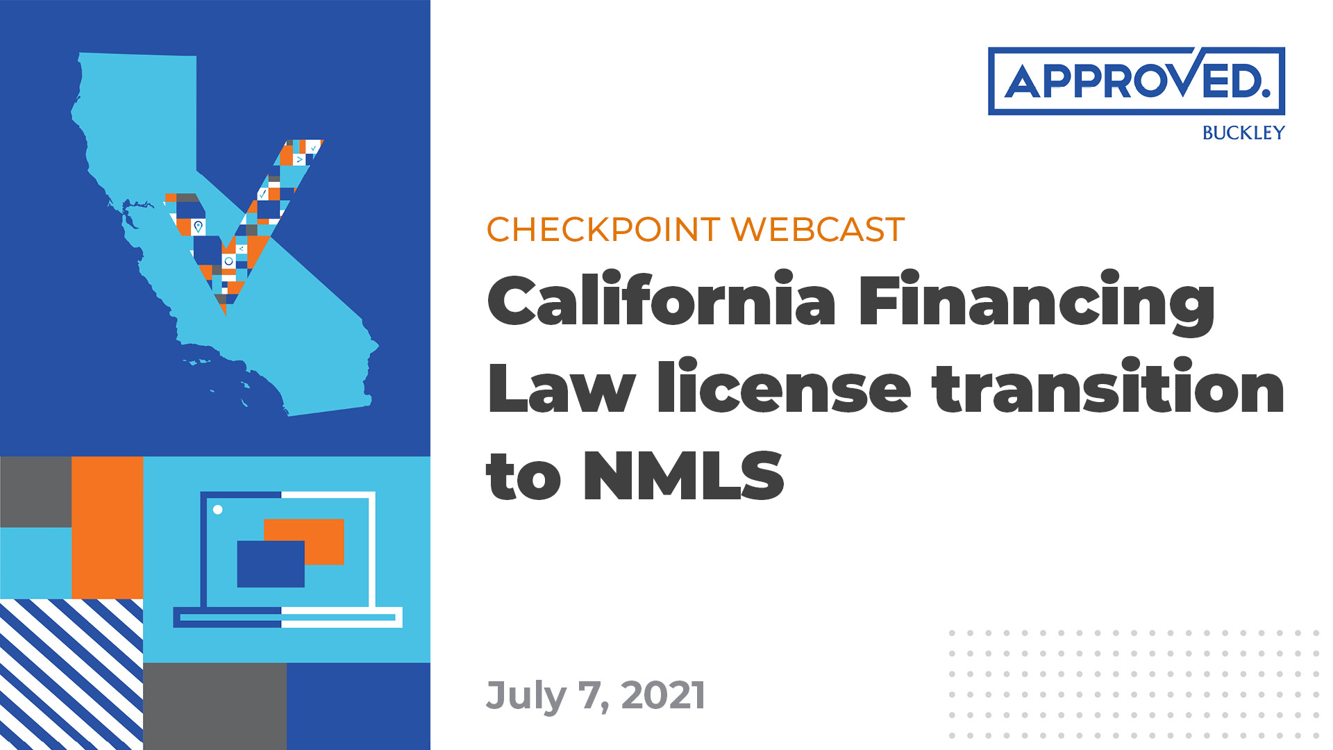 CFL license transition to NMLS | APPROVED Checkpoint Webcast